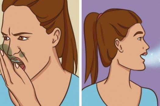 Άσχημη αναπνοή: Δες τους 12 λόγους που η αναπνοή σου μυρίζει