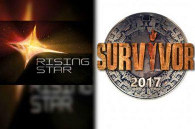 Survivor-Rising Star: Τηλεθέαση για γερά στομάχια. Τεράστια διαφορά, κλάματα, γκρίνιες