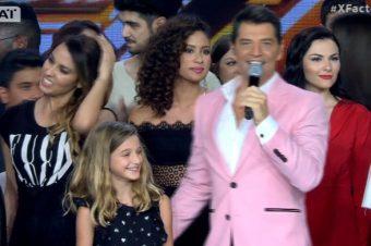Σάκης Ρουβάς, X Factor: Κάλεσε στη σκηνή την κόρη του Αναστασία και έγινε χαμός [video]