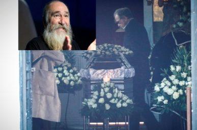Κηδεία Τζίμη Πανούση: Ποιοι διάσημοι στο τελευταίο αντίο. Ηχηρές απουσίες [φωτο]
