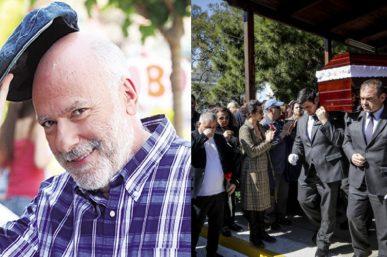 Βουβός πόνος στην κηδεία του Χρήστου Σιμαρδάνη: Ποιοι είπαν το τελευταίο αντίο [φωτο]