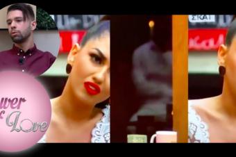 #PowerofLoveGR: Η αισχρή χειρονομία του Σωκράτη Ελ Γκαμαλί στην Κυριακή Τσανικίδου που «κόπηκε» [video]